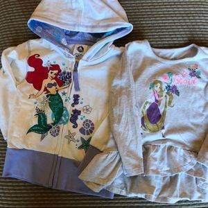 3T Disney Sweatshirt & T-shirt
